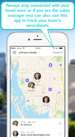 Life360 Family Locator – Keeps you in touch with your loved ones